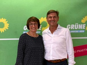 Monika Düker mit Andreas Bartsch