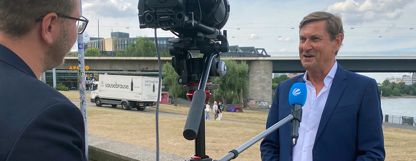 NRWL-Präsident Andreas Bartsch